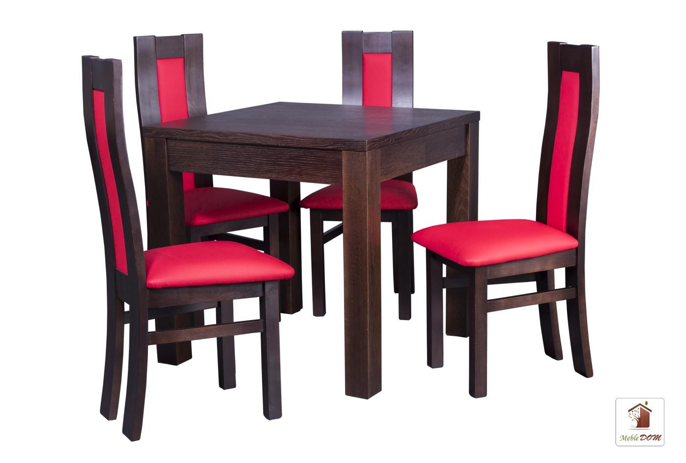 Kwadratowy Stół Rozkładany Strong Square Z Krzesłami Open3 Meble