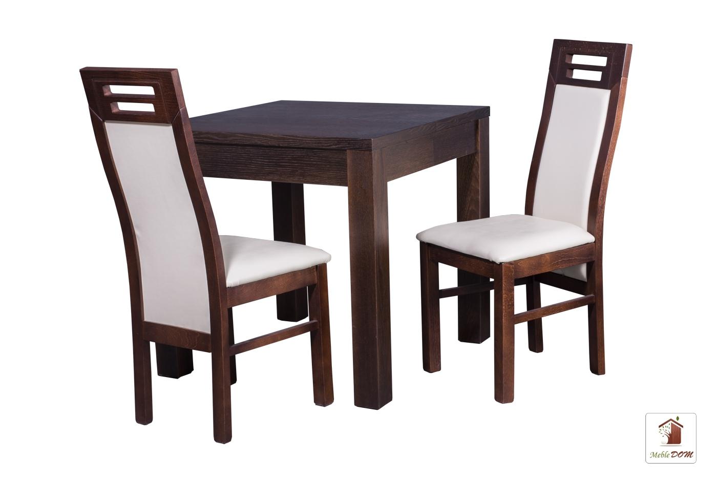 Kwadratowy stół rozkładany Strong Square z krzesłami Rotterdam
