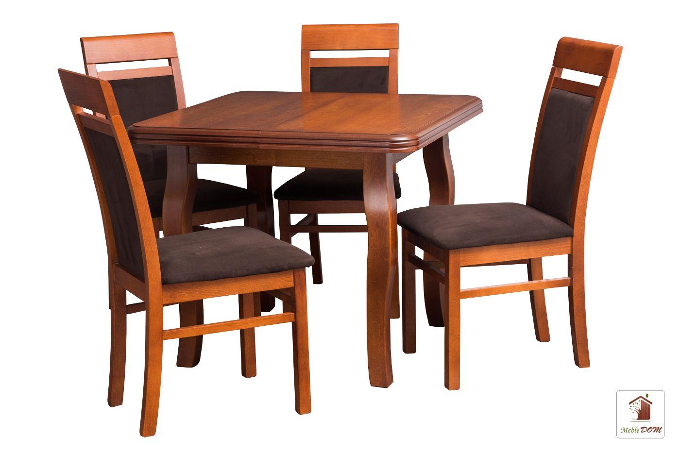 Kwadratowy Stół Rozkładany Swan Square Chic Extra Frez Skk 89